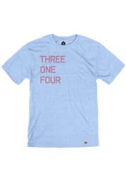 St Louis Light Blue 314 Short Sleeve T Shirt