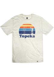 Topeka Oatmeal Astra Sunset Short Sleeve T Shirt