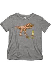 Philadelphia Youth Grey T-Rex Pretzel Short Sleeve T-Shirt