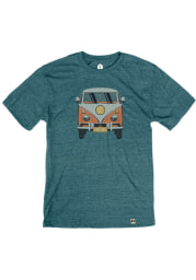 St Louis Teal VW Van Short Sleeve T Shirt