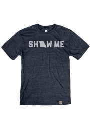 Missouri Navy Show Me Short Sleeve T Shirt