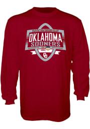 Oklahoma Sooners Crimson 2018 Orange Bowl Bound Long Sleeve T Shirt