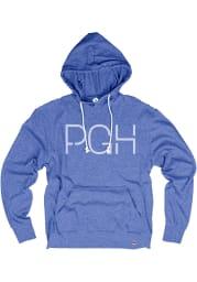Pittsburgh Royal PGH Long Sleeve T-Shirt Hood