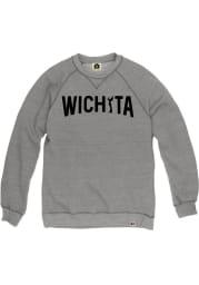 Wichita Mens Grey Arch Keeper Long Sleeve Crew Sweatshirt