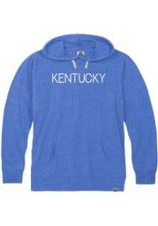 Kentucky Blue Disconnected Long Sleeve T-Shirt Hood