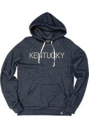 Kentucky Navy Blue Disconnected Long Sleeve Fleece Hood Sweatshirt