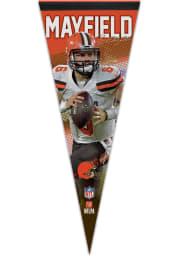 Cleveland Browns Baker Mayfield 12x30 Baker Mayfield Premium Pennant