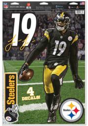 JuJu Smith-Schuster Pittsburgh Steelers 11x17 Multi Use Auto Decal - Black