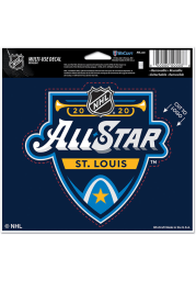 St Louis Blues 2020 All Star Game Auto Decal - Blue