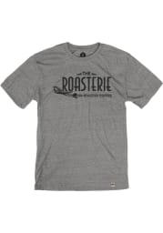 The Roasterie Heather Grey Short Sleeve T Shirt