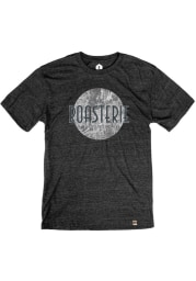 The Roasterie Coffee Map Black Short Sleeve T Shirt