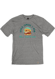 Joe's Kansas City Bar-B-Que Heather Grey Z-Man Short Sleeve T Shirt