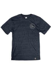 Q39 Heather Navy Logo Short Sleeve T Shirt