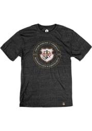 J. Rieger & Co. Heather Black Logo Short Sleeve T Shirt