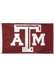 Texas A&M Aggies 3x5 ft Deluxe Maroon Silk Screen Grommet Flag