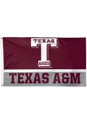 Texas A&M Aggies 3x5 Vault Logo Maroon Silk Screen Grommet Flag