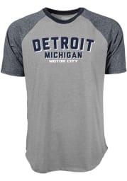 Detroit Grey Ringtone Short Sleeve T Shirt