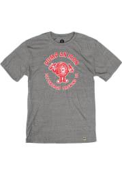 Pittsburgh Brewing Co. Heather Grey Pump An Iron Bottle Cap Short Sleeve T Shirt