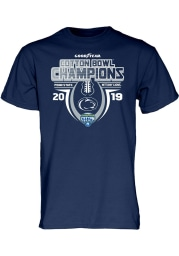 Penn State Nittany Lions Navy Blue 2019 Cotton Bowl Champions Short Sleeve T Shirt