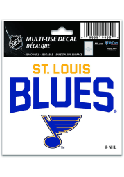 St Louis Blues 3x4 Multi Use Auto Decal - Blue