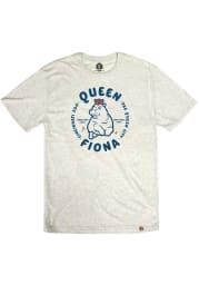 Fiona the Hippo Oatmeal Queen Short Sleeve T Shirt