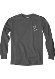 LSU Tigers Charcoal 2019 National Champions Long Sleeve T Shirt