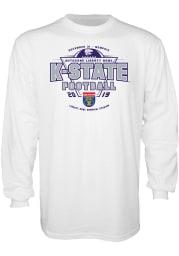 K-State Wildcats White 2019 Liberty Bowl Bound Short Sleeve T Shirt