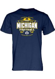 Michigan Wolverines Navy Blue 2019 Citrus Bowl Bound Short Sleeve T Shirt