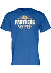 Pitt Panthers Blue 2019 Quick Lane Bowl Bound Short Sleeve T Shirt
