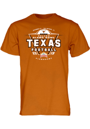 Texas Longhorns Burnt Orange 2019 Alamo Bowl Bound Short Sleeve T Shirt