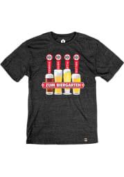 KC Bier Co. Taps Heather Black Short Sleeve T-Shirt