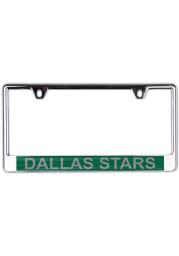 Dallas Stars Metallic Printed License Frame