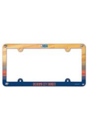 Oklahoma City Thunder Plastic Full Color License Frame