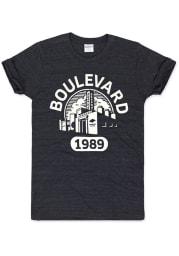 Charlie Hustle Kansas City Black Boulevard Short Sleeve T Shirt