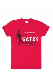 Charlie Hustle Kansas City Red BBQ Short Sleeve T Shirt