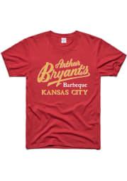 Charlie Hustle Kansas City Cardinal BBQ Short Sleeve T Shirt