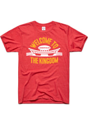 Charlie Hustle Kansas City Red Welcome To The Kingdom Short Sleeve T Shirt