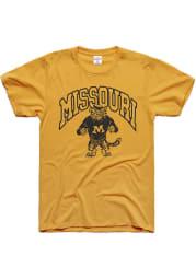 Charlie Hustle Missouri Tigers Gold Fighting Sailor Short Sleeve Fashion T Shirt