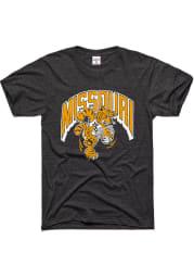 Charlie Hustle Missouri Tigers Charcoal Dunking Tiger Short Sleeve Fashion T Shirt