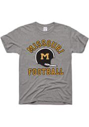 Charlie Hustle Missouri Tigers Grey Football Gridiron Short Sleeve Fashion T Shirt