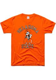 Charlie Hustle Oklahoma State Cowboys Orange Champions Classic Short Sleeve Fashion T Shirt