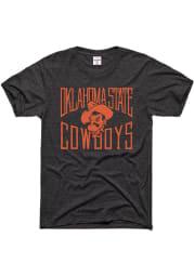 Charlie Hustle Oklahoma State Cowboys Charcoal Gameday Short Sleeve Fashion T Shirt