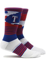Texas Rangers Color Camo Mens Crew Socks