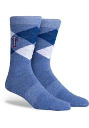 Texas Rangers Argyle Mens Argyle Socks
