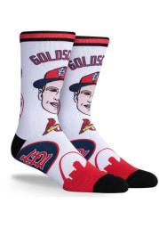 Paul Goldschmidt St Louis Cardinals Pins Mens Crew Socks