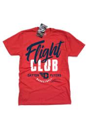 GV Art + Design Dayton Flyers Red Flight Club Short Sleeve Fashion T Shirt