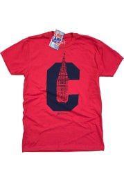 GV Art + Design Cleveland Red C Terminal Short Sleeve Fashion T Shirt