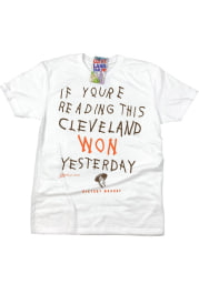 GV Art + Design Cleveland If You're Reading This White Short Sleeve T-Shirt