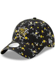 New Era Wichita State Shockers Black Blossom 9TWENTY Womens Adjustable Hat