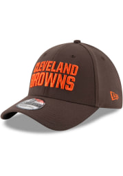 New Era Cleveland Browns Brown JR Team Classic 39THIRTY Youth Flex Hat